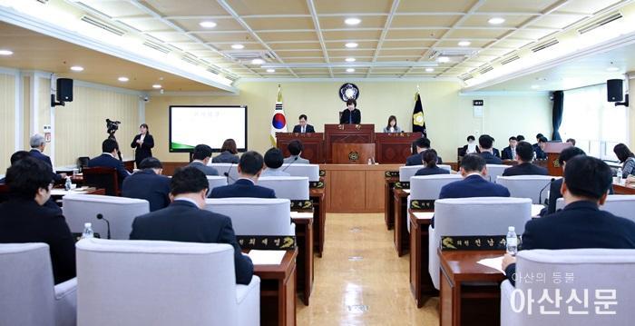 제211회 임시회 제1차 본회의 개회장면.JPG